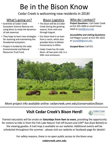 Cedar Creek Ecosystem Science Reserve