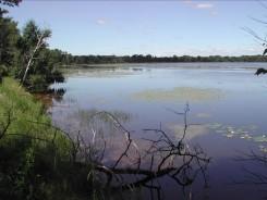 Summer view of Fish Lake